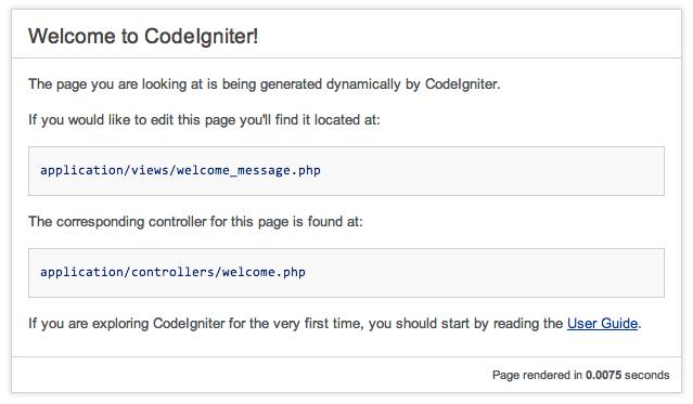nginx + php-fpm で CodeIgniter を動かすメモ